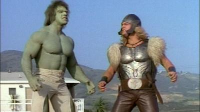 '77~'82년까지 방영된 The Incredible Hulk (CBS)