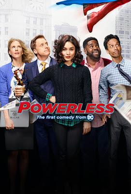 파워가 없는 사람들의 삶을 시트콤으로 그렸습니다. Powerless